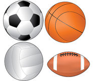 Set balls Stock Photos