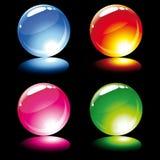 Set of balls Royalty Free Stock Image