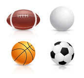 Set of balls Royalty Free Stock Photo