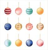 Set of balls Stock Photography