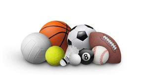 Ball set royalty free stock photography