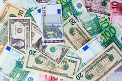 Set of banknote Royalty Free Stock Photo