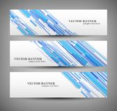 Set banner abstract illustration Stock Photos