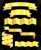 Set of banner ribbons. Vector illustration Stock Image