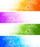 Set of banners Stock Photo