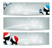 Set  banners Stock Image