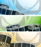 Set of banners Stock Image