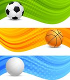 Set of banners Stock Photography