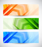 Set of banners Royalty Free Stock Photography