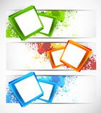 Set of banners stock illustration