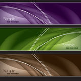 Set of Banners. Abstract Background. Stock Images