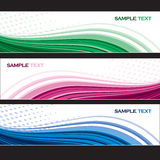 Set of Banners. Abstract Background. Stock Photography