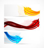 Set of banners with arrows Royalty Free Stock Image