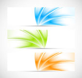 Set of banners. Bright illustration Stock Photo