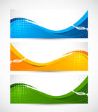 Set of banners Stock Images