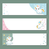 Set of banners. royalty free illustration