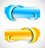 Set of banners Royalty Free Stock Image