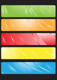 Set of banners vector Stock Photos