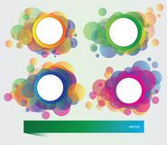 Set of banners with vector  elements Royalty Free Stock Photography
