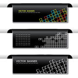 Set of banners - web headers stock illustration