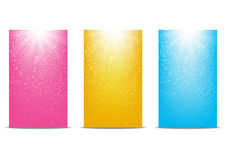 Set of 240x400 banners for Your design Royalty Free Stock Photography