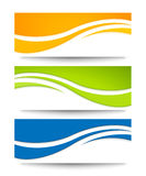 Set of banners for your design. Stock Photos