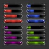 Set bar downloader-4 Obraz Royalty Free