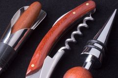 Set of bar tools Royalty Free Stock Images