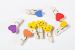 Set barwioni czopy z przyczepieniami Obrazy Royalty Free
