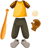Set of baseball Stock Images