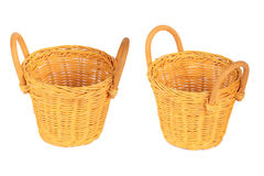 Set of Baskets. Royalty Free Stock Image