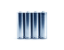 Set baterie Fotografia Stock