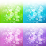 Set of bath backgrounds Royalty Free Stock Photography