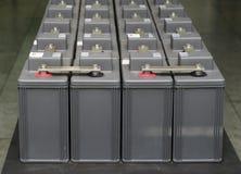 Set of battery Royalty Free Stock Photo