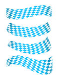 Set of bavarian banners Royalty Free Stock Photos