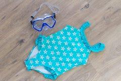 Set of beach accessories Stock Photo