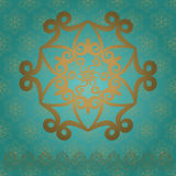 Set of beautiful Asian patterns. Geometric elegant ornament for design greeting cards, printing on fabric, vector EPS-10 Stock Images