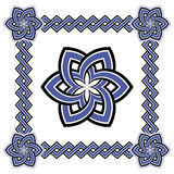 Set of beautiful Celtic patterns Royalty Free Stock Photos