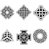 Set of beautiful Celtic patterns Royalty Free Stock Image