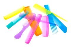 Set of beautiful comb Stock Photo