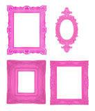 Set of beautiful ornamental frames Royalty Free Stock Photos