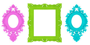 Set of beautiful ornamental frames Royalty Free Stock Photography