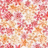 Snowflake, snow, seamless pattern, christmas, holiday stock image