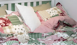 Set of bed linen. Royalty Free Stock Image