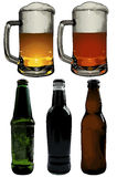 Set of beer elements Stock Photos