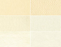 Set beige texture old paper. Stock Image