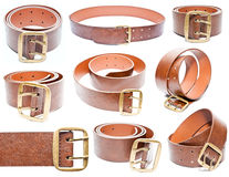 Set of belt Stock Images
