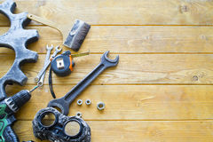 Set of bench tools Stock Photography