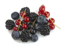 Set of berries Stock Photos