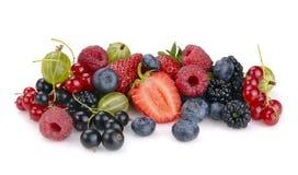 Set of berries Royalty Free Stock Photo